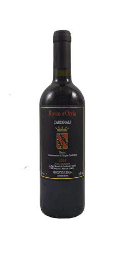 rosso d'orcia Cardinali 2016 doc