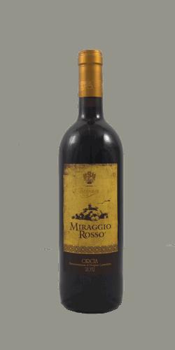 """Bagnaia """" Miraggio Rosso"""" Orcia D.O.C 2012"""