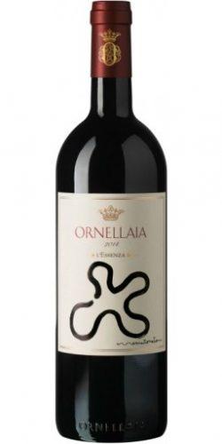 Ornellaia Bolgheri Superiore Vendemmia Artista Cassetta 6 Bottiglie L'Essenza 2014