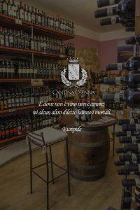 Vendita Vino online: Brunello di Montalcino ed orcia in particolare., vista dell'osenna cantina per smartophone.
