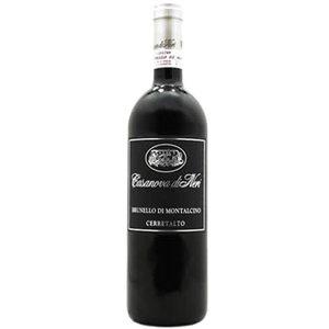 Casanova di Neri Cerretalto 2010, Brunello di Montalcino: vino pregiato rosso da invecchiamento.