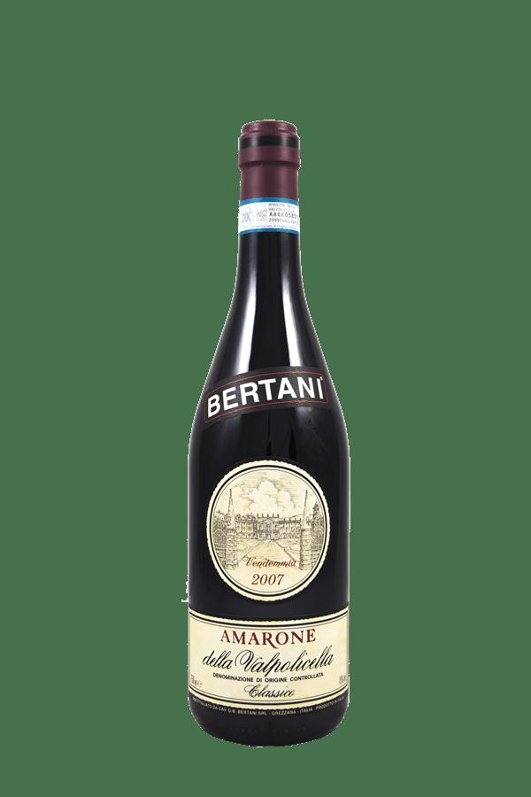 Amarone Bertani 2007 Classico Della Valpolicella
