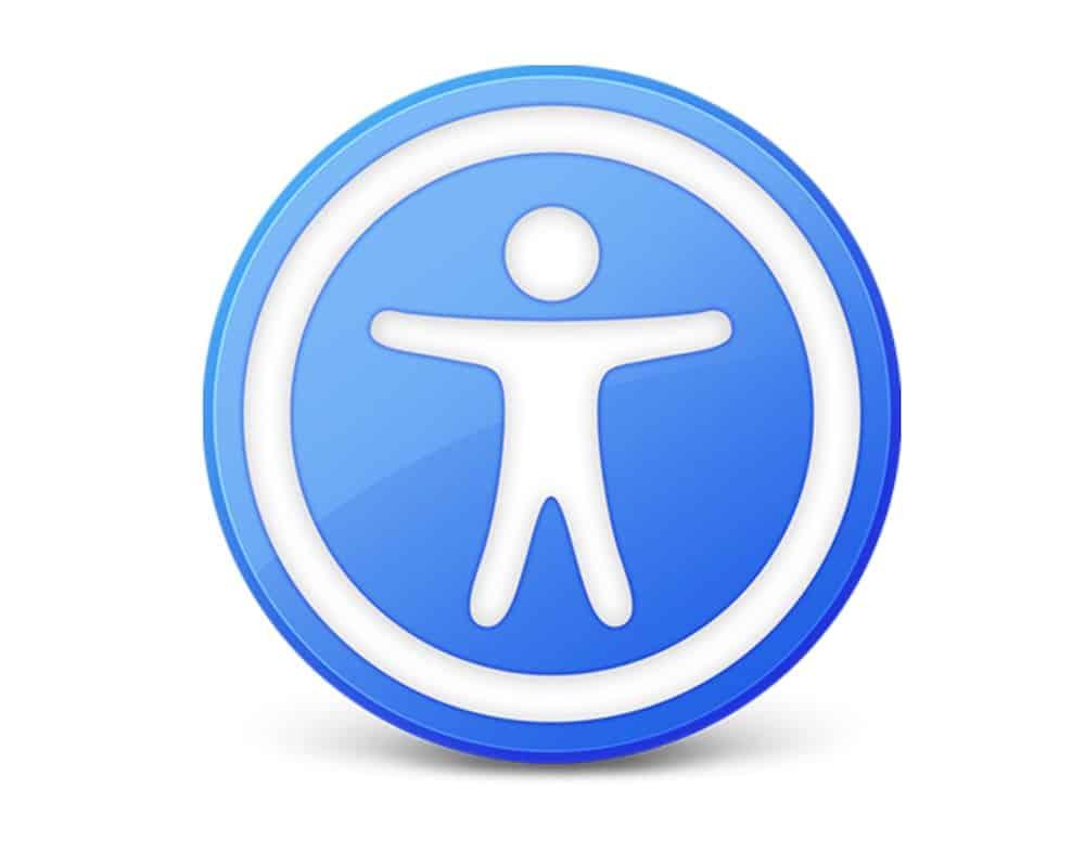 Logo Web Accessibile Alle Persone Disabili, Osenna in Prima Fila