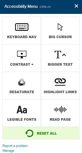 Screenshot Plugin per migliorare l'accessibilità web delle persone disabili.
