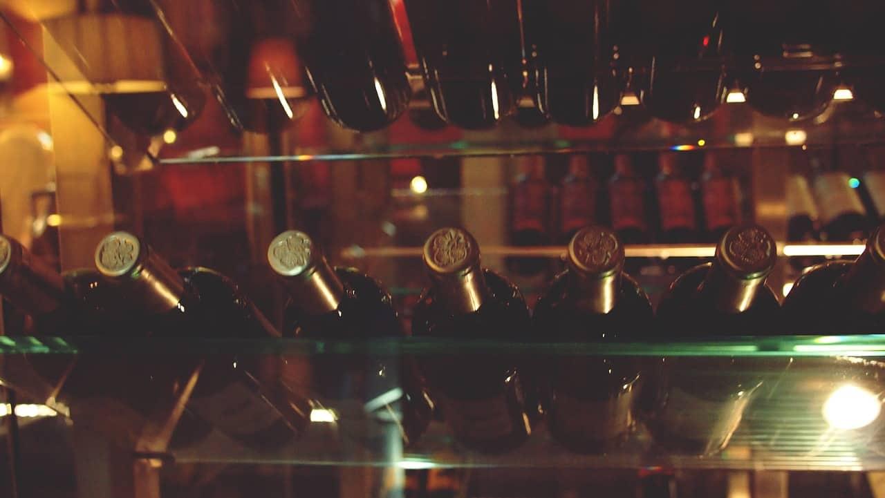 Osenna safe wine: teniamo le bottiglie per te in condizioni ottimali.