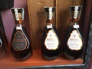 Tre bottiglie di Armagnac anni 70
