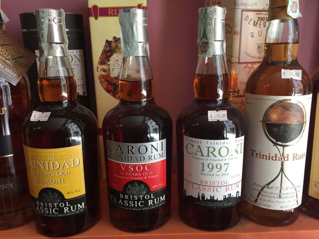Pregiato Rum invecchiato Caroni