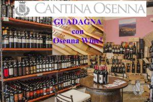Osenna Wine Programma di Affiliazione attivo!